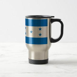 Flag of Honduras - Bandera Hondureña de Honduras Travel Mug