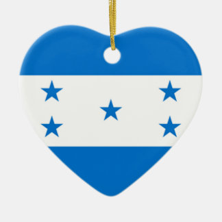 Flag of Honduras Ceramic Ornament