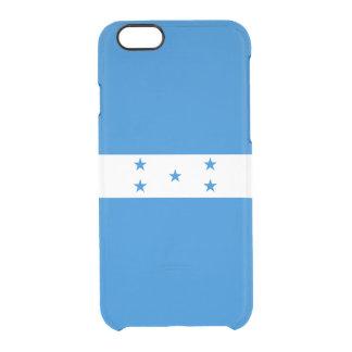 Flag of Honduras Clear iPhone Case