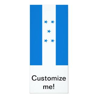 Flag of Honduras 10 Cm X 24 Cm Invitation Card