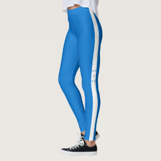 Flag of Honduras Leggings