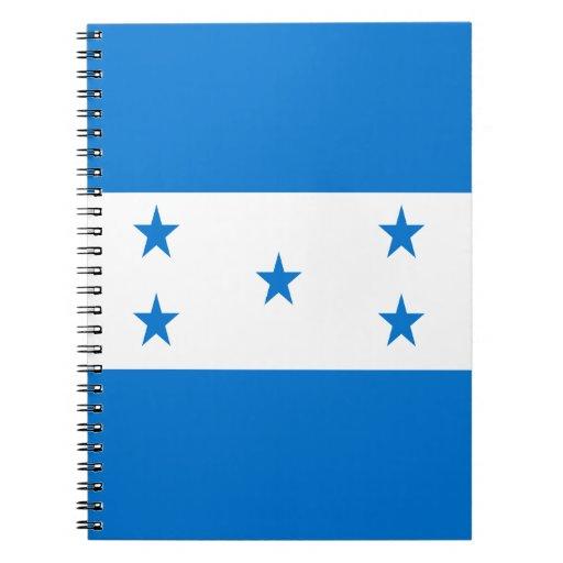 Flag of Honduras Notebooks