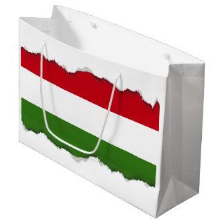 Flag of Hungary Large Gift Bag