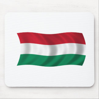 Flag of Hungary Mouse Pads