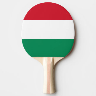 Flag of Hungary Ping Pong Paddle