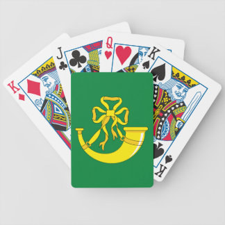 Flag of Huntingdonshire Bicycle Playing Cards