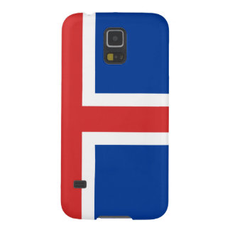 Flag of Iceland Galaxy S5 Covers
