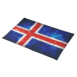 Flag of Iceland Placemat