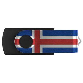 Flag of Iceland USB Flash Drive