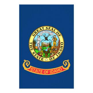 Flag Of Idaho Stationery