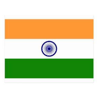 Flag of India - तिरंगा  - भारत का ध्वज Postcard
