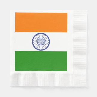 Flag of India Ashoka Chakra Disposable Serviette