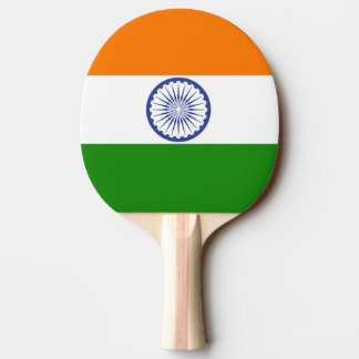 Flag of India Ashoka Chakra Ping Pong Paddle
