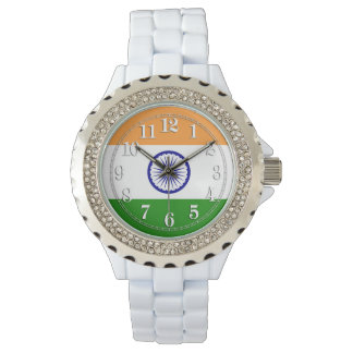 Flag of India Wrist Watch