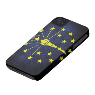 Flag of Indiana iPhone 4 Cases