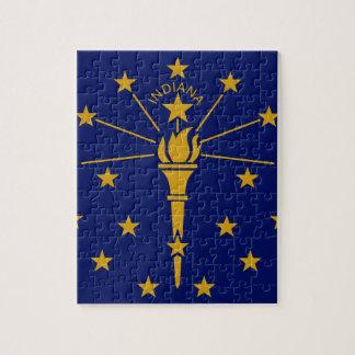 Flag Of Indiana Jigsaw Puzzle
