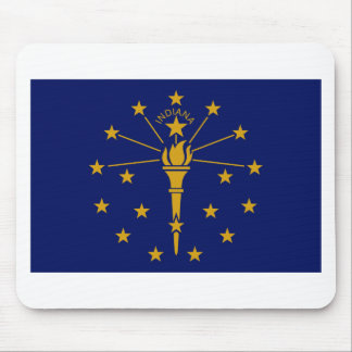 Flag Of Indiana Mouse Pad
