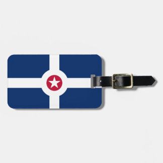 Flag of Indianapolis, Indiana Luggage Tag
