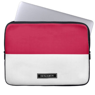 Flag of Indonesia Laptop Sleeve