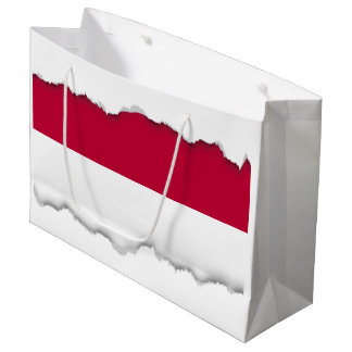 Flag of Indonesia Large Gift Bag