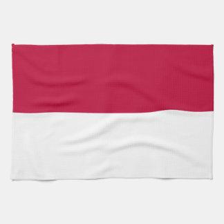 Flag of Indonesia Tea Towel
