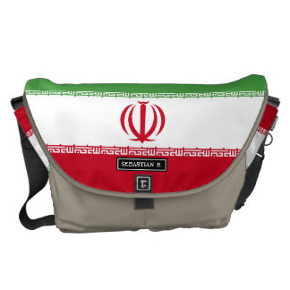 Flag of Iran Courier Bag