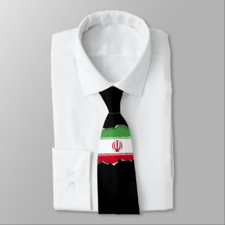 Flag of Iran Tie