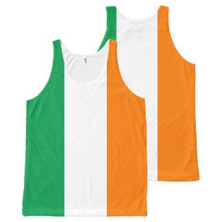 Flag of Ireland All-Over Print Singlet
