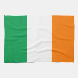 "Flag of Ireland American MoJo Kitchen Towel 16"" x"