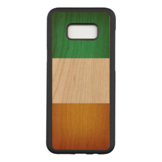 Flag of Ireland Carved Samsung Galaxy S8+ Case