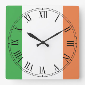 Flag of Ireland Clock