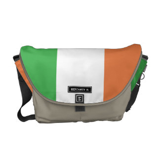 Flag of Ireland Courier Bags