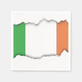 Flag of Ireland Disposable Serviette