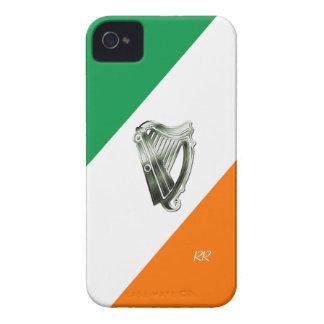 Flag of Ireland Green Chrome Harp iPhone Case