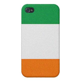 Flag of Ireland - Irish Republic Tri-colour iPhone 4/4S Covers