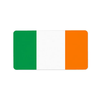 Flag of Ireland Labels