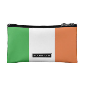 Flag of Ireland Makeup Bag