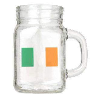 Flag of Ireland Mason Jar