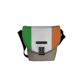 Flag of Ireland Messenger Bags