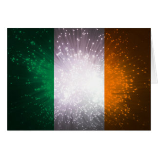 Flag of Ireland Note Card