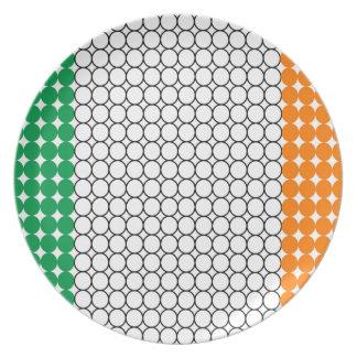 Flag of Ireland Plate
