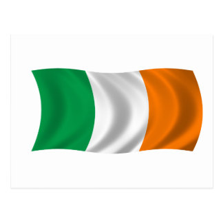 Flag of Ireland Postcard