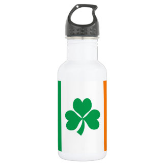 Flag of Ireland Shamrock 532 Ml Water Bottle