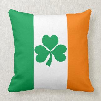 Flag of Ireland Shamrock Cushion