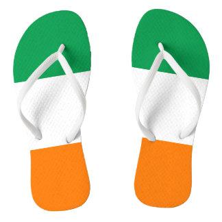Flag of Ireland Shamrock Thongs