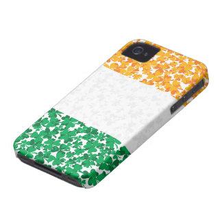 Flag of Ireland Shamrocks Case-Mate iPhone 4 Case