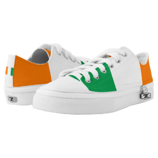 Flag of Ireland Shoes Printed Shoes