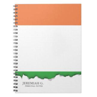 Flag of Ireland Spiral Notebooks