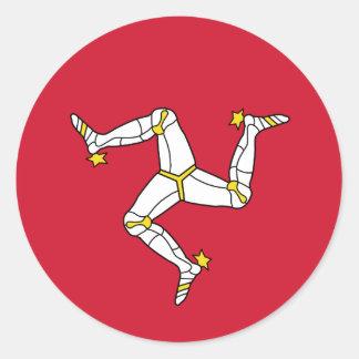Flag of  Isle of Man Sticker