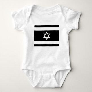Flag of Israel - דגל ישראל - ישראלדיקע פאן Baby Bodysuit